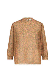 Tosha print blouse lurex