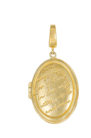 Mantra Locket Charm