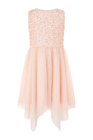 Sequin Frill Party Dress