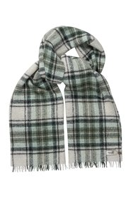 Check Boucle Scarf