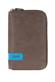 ZWEI Purse Brown/Blue