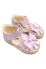 Starter sandal with bow and velcro 0500