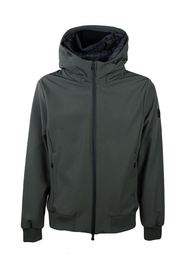 Man jacket with hood