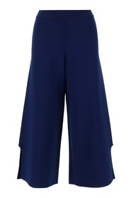 compact knit trousers