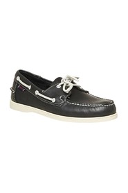 Portland leather boat shoes