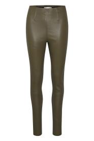 Sasha leather leggings