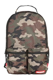 Camo Mesh Side Shark Backpack