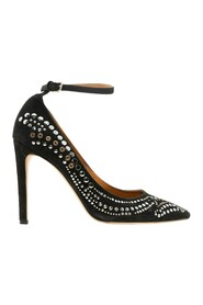 Stanley Studded Suede Pumps