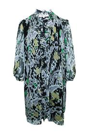 Multicolor Print Dress -Pre Owned Condition Very Good