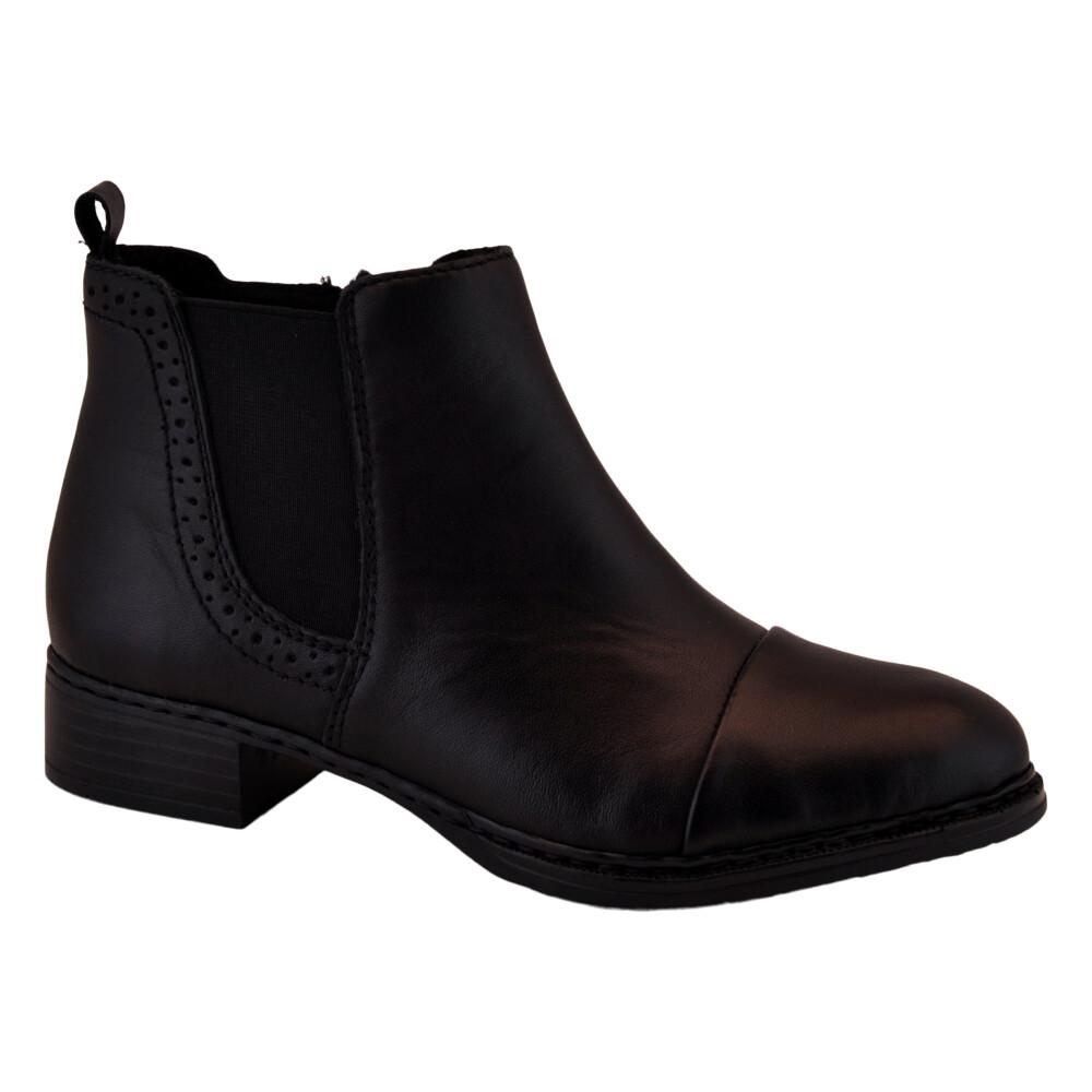 Black Ankle Boot | Rieker | Støvler | Miinto.dk
