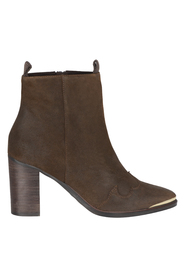 SPM Hesting ankle boot brown/gold