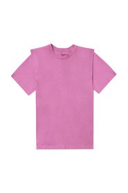 T-shirt with decorative sleeves