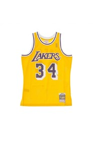 Basketball NBA Swimgman Jersey Shaquille Oneal No34 1996-97 Loslak Home