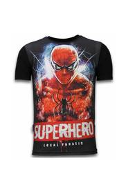 Superhero - Digital Rhinestone T-shirt