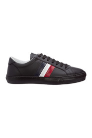men's shoes leather trainers sneakers new monaco