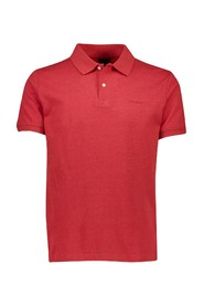 Solid Small Pattern Polo skjorte