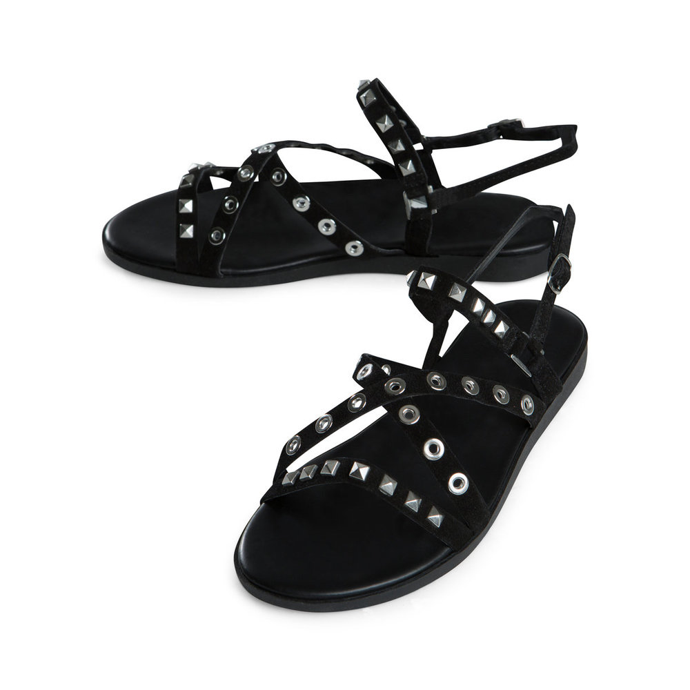 Sandals Studded Suede