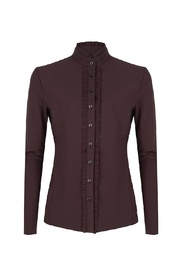 U719AW111 Blouse new coffee