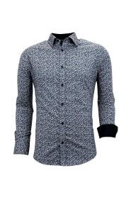 Getailleerde Overhemden  -  Slim Fit - 3045