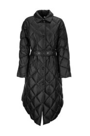 Diamond quilted coat in nylon canvas MABLETHORPE