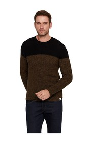 Sweter Colorblock