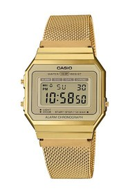 Casio Vintage A700WEMG-9AEF Watches Unisex Gold