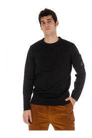 CREW NECK DOUBLE SWEATER