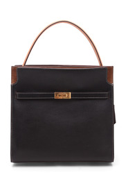 Lee Radziwill Leather Shopping bag
