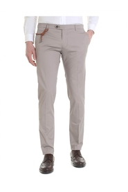 Trousers cotton SLIM CN1204X SAND