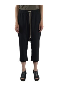 WT DRAWSTRING CROPPED PANTS