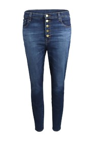 Lily Arcade High Rise Crop Skinny Jeans