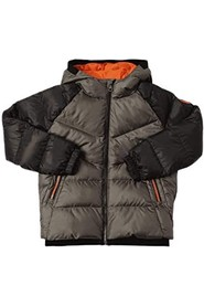TWO-TONE DOWN JACKET CAPP