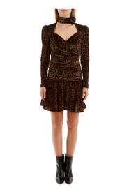 Animalier mini dress