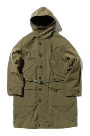 Military reversible parka