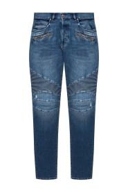 Ruwe rand jeans