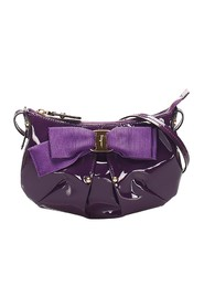 Vara Bow Patent Leather Shoulder Bag