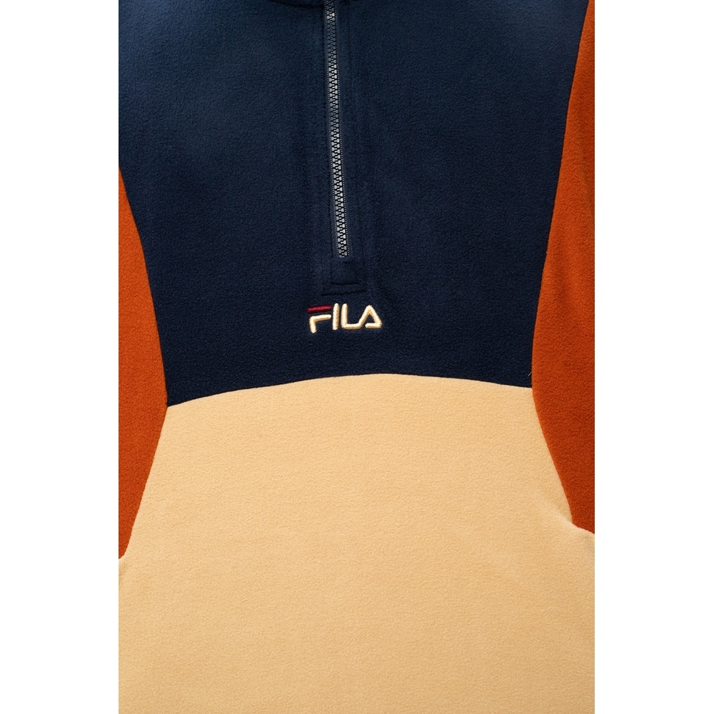 Beige Sweatshirt | Fila | Hoodies  sweatvesten | Heren winter kleren