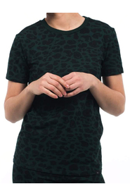 Leopard classic tee Colourful Rebel/groen