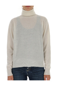 Regular-fit turtleneck jumper