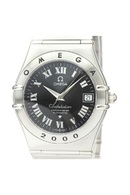 Pre-owned Constellation Automatic Stainless Steel Men's Watch 1504.50