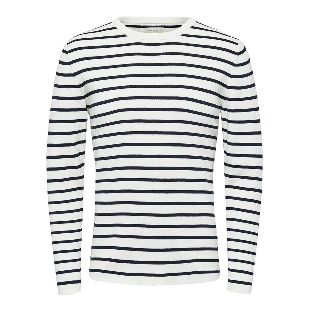 Strikket Pullover Striped -