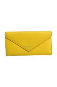 Pre-owned Paper 499207 Leather Long Wallet (bi-fold)