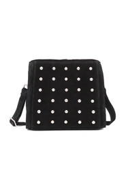 Alaia Black Marino Shoulder Bag