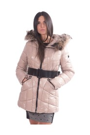 Solid Color Padded Jacket F120W09002W01501