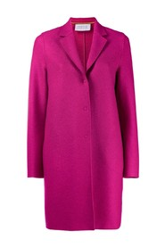 coat with snap fastening