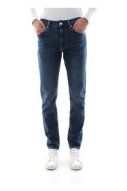 CALVIN KLEIN K10K104361 SLIM JEANS Men DENIM MEDIUM BLUE