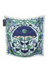 Pre-owned L'ombrelle Magique Silk Printed Scarf