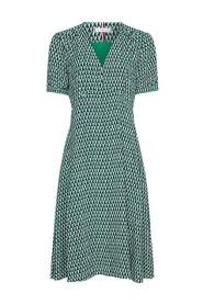 Vis Poplin Knee Dress