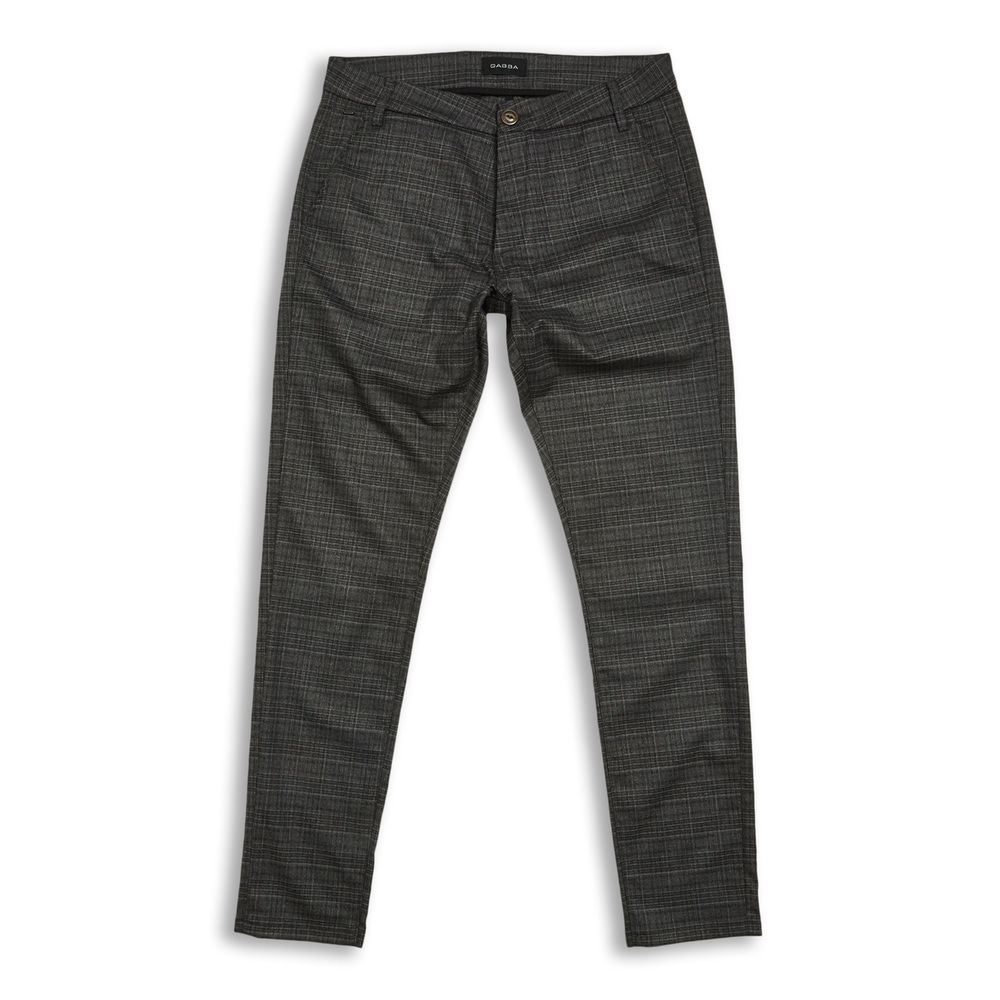 Jones Chino Grey Check