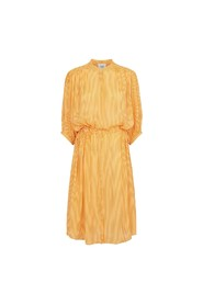 Second female Sharon ss Dress Cadimium Yellow